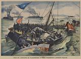 The Russo-Japanese War: three Japanese transport ships sunk in a raid by the Vladivostok Squadron