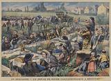 A gargantuan wedding feast at Serignac, Brittany