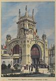 Monumental gateway of the Liege Universal Exposition of 1905, Belgium