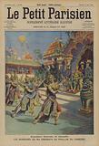 Dancers of King Sisowath at the Cambodian Pavilion at the French Colonial Exposition in Marseilles