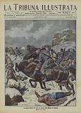 Defeat of the Turks by the Bulgarians at Kavak on the Gallipoli Peninsula, First Balkan War
