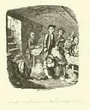 Illustration for Roderick Random by Tobias Smollett