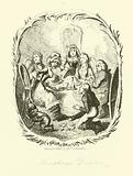 Illustration for Humphry Clinker by Tobias Smollett