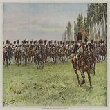 The charge of the Horse Grenadiers