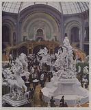 Central nave of the Grand Palais at the Exposition Universelle 1900, Paris