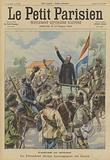 Victory or death. President Steyn of the Orange Free State addressing Boer troops.