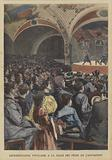 Popular performance in the Festival Hall of the Exposition Universelle 1900, Paris