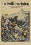The Boxer Rebellion: capture of a Chinese battery by Russian troops in Manchuria