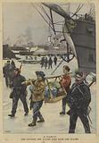 The Boxer Rebellion: Allied ships trapped by ice at Taku