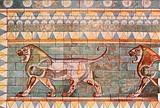 """The Lions' Frieze from the Palace of """"The King of Kings"""" at Susa"""