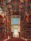The colour of Karnak in the days of the Splendour of Thebes