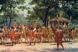 The Coronation Coach, Coronation procession of King Edward VII, 1902