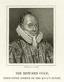 Sir Edward Coke, Lord Chief Justice Of The King's Bench