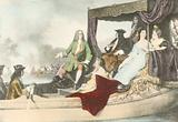 King George III and George Friedrich Handel on the river Thames