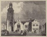Old Church of St Martin-in-the Fields, London, in which Nell Gwyn was buried