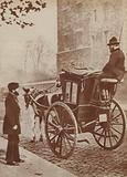 Hansom cab, 1873
