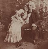 Henry Irving and Ellen Terry in The Vicar Of Wakefield