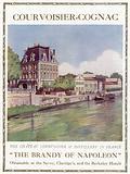 Advertisement for Courvoisier-Cognac, The Brandy Of Napoleon