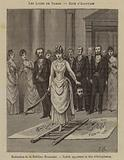 Initiation ceremony in a women's lodge