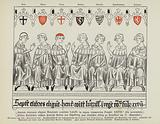 Election of Henry VII of Luxembourg as Holy Roman Emperor, Frankfurt, 27 November 1308