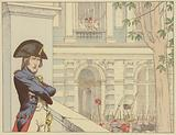 Napoleon sees King Louis XVI for the second time, 20 June 1792