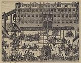 Tournament in celebration of the Christening of Sigismund, son of John George, Elector of Brandenburg, at Colln …