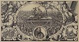 Execution of Lippold ben Chluchim, Master of the Mint of Brandenburg, Berlin, 28 January 1573
