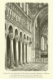 Interior of the Basilica of Sant'Appolinare Nuovo, Ravenna, Italy