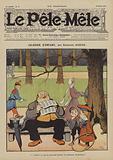Jalousie d'enfant. Illustration for Le Pele-Mele, 1906.