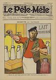 Indignation. Illustration for Le Pele-Mele, 1906.
