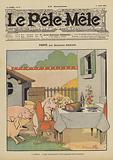Fierte. Illustration for Le Pele-Mele, 1906.