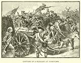 Capture of a Redoubt at Yorktown