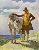 Sir Nat and the Horse