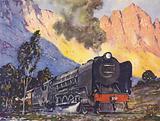 Union of South Africa, Union Express (Capetown-Johannesburg) Class 15F, 4-8-2 Locomotive