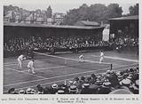 1913, Davis Cup Challenge Round, C P Dixon and H Roper Barrett v H H Hackett and M E McLoughlin (USA)