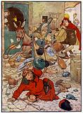 Illustration for The Story of Tom The Piper's Son