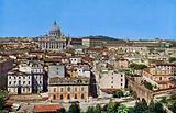 St Peter's and the Vatican, View from the Castle of S Angelo
