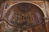 S Francesca Romana, Mosaic Apse