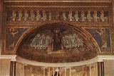 S Maria in Domnica, Mosaic Apse