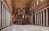 S Maria Maggiore, Interior
