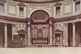 The Pantheon, Interior