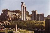 The Palatine, View from the Forum