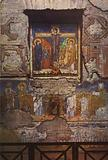 S Maria Antiqua, Crucifixion Group