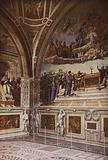 """Vatican, The """"Disputa"""" of Raffael"""