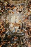 S Ignazio, Ceiling Frescoes