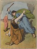 Moses Kills the Cruel Task-Master