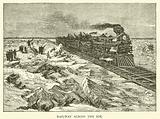 Railway across the Ice