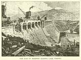 The Dam of Masonry Closing Lake Vyrnwy
