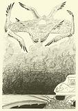 The Four Gull-winged Djinns