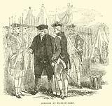 Johnson at Warley Camp